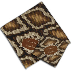 Snake Skin Cloth Napkin w/ Name or Text