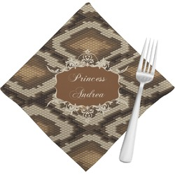 Snake Skin Napkins (Set of 4) (Personalized)