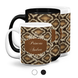Snake Skin Coffee Mugs (Personalized)