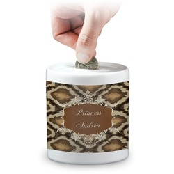 Snake Skin Coin Bank (Personalized)