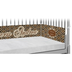 Snake Skin Crib Bumper Pads (Personalized)