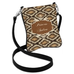 Snake Skin Cross Body Bag - 2 Sizes (Personalized)