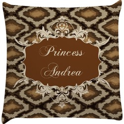 Snake Skin Decorative Pillow Case (Personalized)