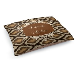 Snake Skin Dog Bed (Personalized)