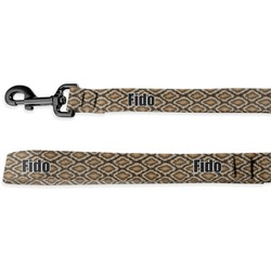 Snake Skin Deluxe Dog Leash (Personalized)
