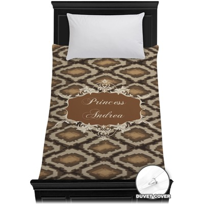 Snake Skin Duvet Cover - Toddler (Personalized)