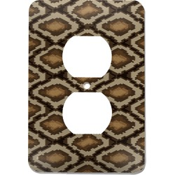 Snake Skin Electric Outlet Plate (Personalized)