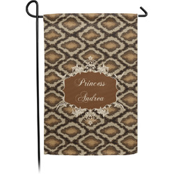 Snake Skin Garden Flag - Single or Double Sided (Personalized)
