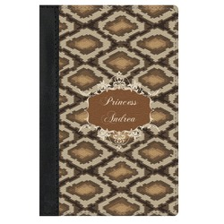 Snake Skin Genuine Leather Passport Cover (Personalized)