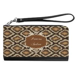 Snake Skin Genuine Leather Smartphone Wrist Wallet (Personalized)