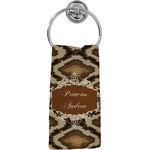Snake Skin Hand Towel - Full Print (Personalized)