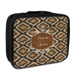 Snake Skin Insulated Lunch Bag (Personalized)