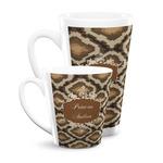 Snake Skin Latte Mug (Personalized)