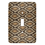 Snake Skin Light Switch Covers - Multiple Toggle Options Available (Personalized)