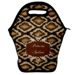 Snake Skin Lunch Bag w/ Name or Text