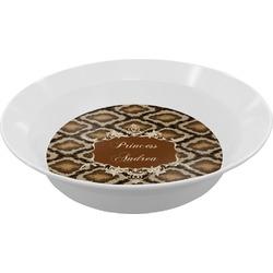 Snake Skin Melamine Bowls (Personalized)
