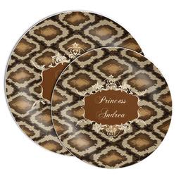 Snake Skin Melamine Plate (Personalized)