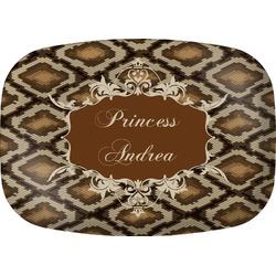 Snake Skin Melamine Platter (Personalized)