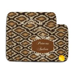 Snake Skin Memory Foam Bath Mat (Personalized)