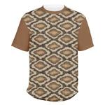 Snake Skin Men's Crew T-Shirt (Personalized)