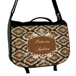 Snake Skin Messenger Bag (Personalized)
