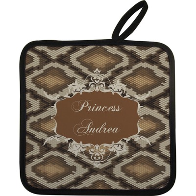 Snake Skin Pot Holder (Personalized)