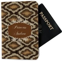 Snake Skin Passport Holder - Fabric (Personalized)
