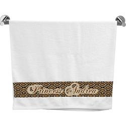 Snake Skin Bath Towel (Personalized)