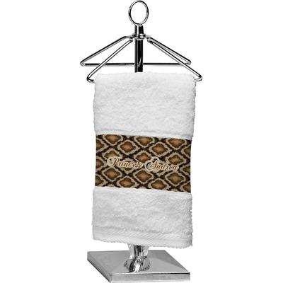 Snake Skin Cotton Finger Tip Towel (Personalized)