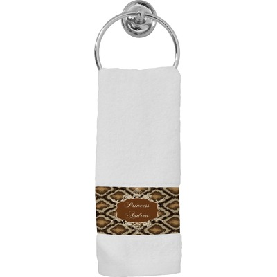 Snake Skin Hand Towel (Personalized)