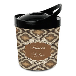 Snake Skin Plastic Ice Bucket (Personalized)