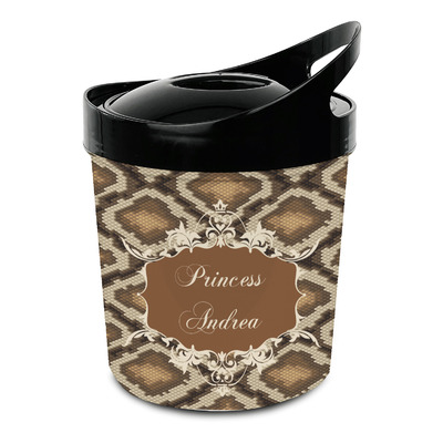 Snake Skin Plastic Ice Bucket (Personalized)