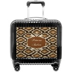 Snake Skin Pilot / Flight Suitcase (Personalized)