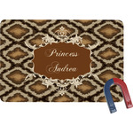 Snake Skin Rectangular Fridge Magnet (Personalized)