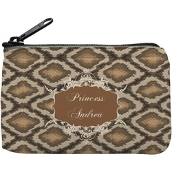 Snake Skin Rectangular Coin Purse (Personalized)