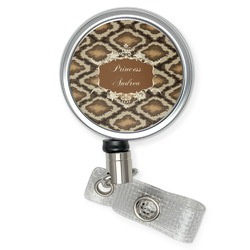Snake Skin Retractable Badge Reel (Personalized)
