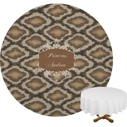 Snake Skin Round Tablecloth (Personalized)