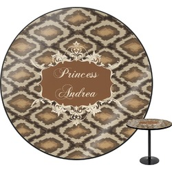 Snake Skin Round Table (Personalized)