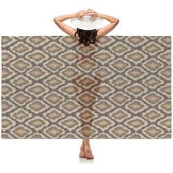 Snake Skin Sheer Sarong (Personalized)