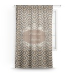 Snake Skin Sheer Curtains (Personalized)