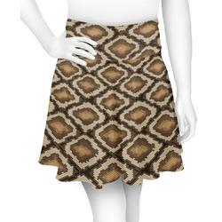 Snake Skin Skater Skirt (Personalized)