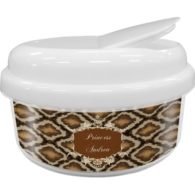 Snake Skin Snack Container (Personalized)