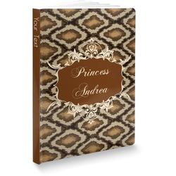 "Snake Skin Softbound Notebook - 7.25"" x 10"" (Personalized)"