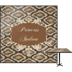 Snake Skin Square Table Top (Personalized)