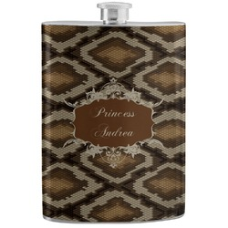 Snake Skin Stainless Steel Flask (Personalized)