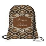 Snake Skin Drawstring Backpack (Personalized)