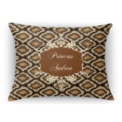 "Snake Skin Rectangular Throw Pillow - 18""x24"" (Personalized)"