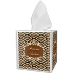 Snake Skin Tissue Box Cover (Personalized)