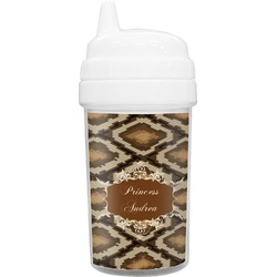 Snake Skin Toddler Sippy Cup (Personalized)