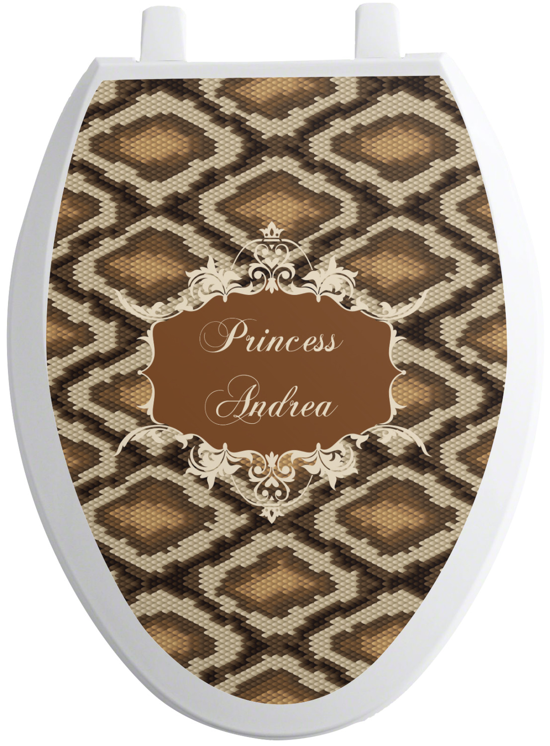 Wondrous Snake Skin Toilet Seat Decal Personalized Pdpeps Interior Chair Design Pdpepsorg